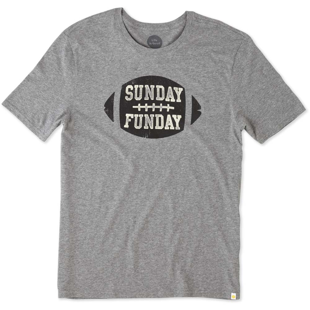 Life is Good Men's Sunday Funday Crusher Tee