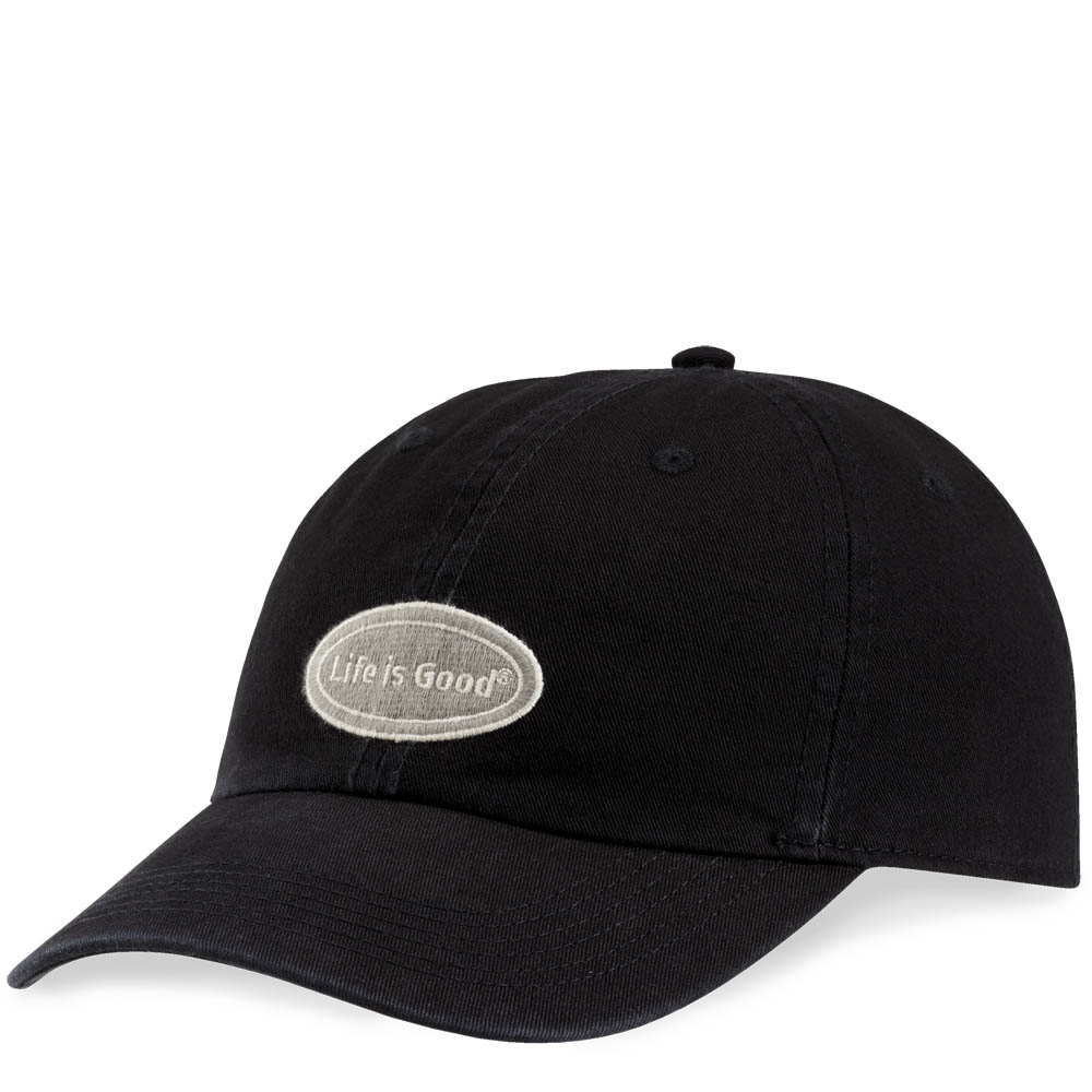 Life is Good Life is Good Oval Ripstop Chill Cap in Black