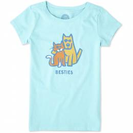 Life is Good Girl's Besties Crusher Tee