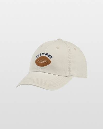 Men's Life is Good Football Chill Cap