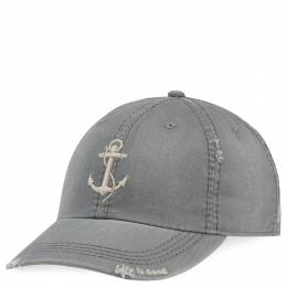 Life is Good Men's Anchor Sunwashed Chill Cap