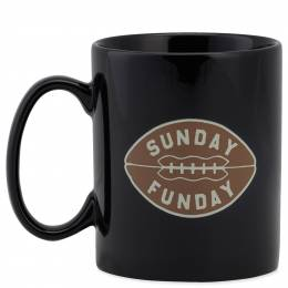 Life is Good Sunday Funday Football Jake's Mug