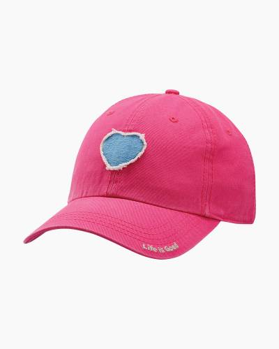 Women's Tattered Heart Chill Cap