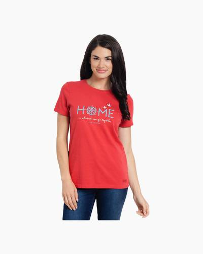 Women's Home Compass Crusher Tee