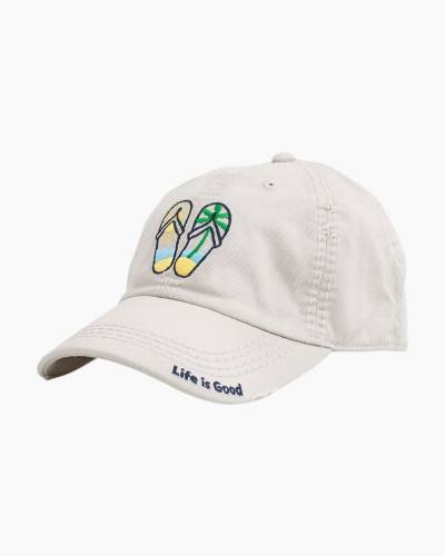 Flip Flop Sunwashed Chill Cap in Bone