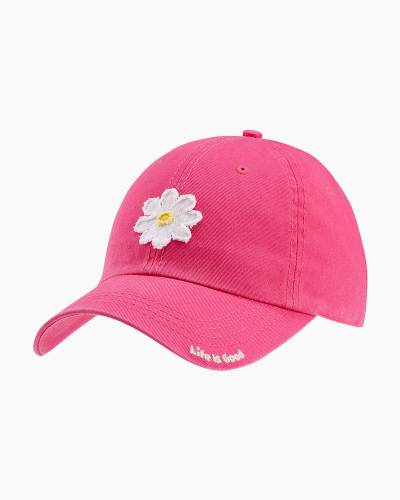 Tattered Daisy Chill Cap in Pop Pink