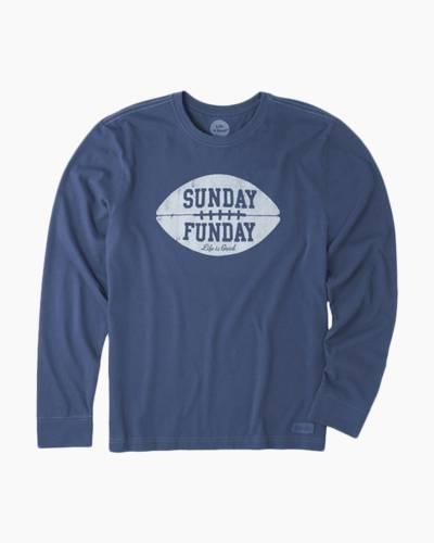 Men's Sunday Funday Long Sleeve Crusher Tee