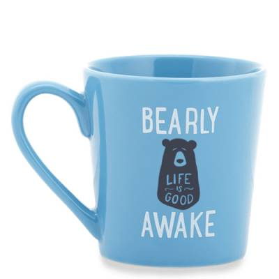 Sleepy Bear Everyday Mug in Powder Blue