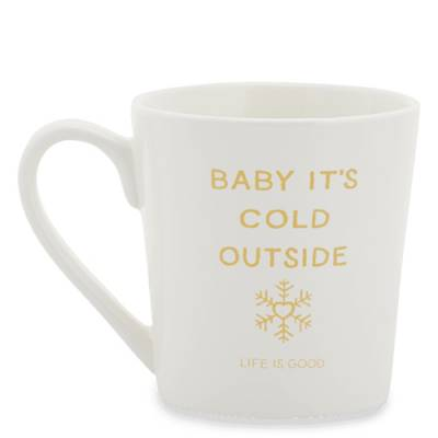 Celebrate Snowflake Everyday Mug in Cloud White