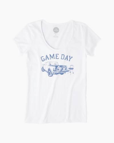 Women's Game Day Crusher Vee Tee