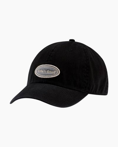 Life is Good Oval Chill Cap in Night Black