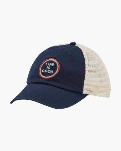Life is Good Coin Soft Mesh Back Cap
