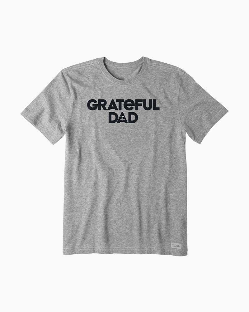 14da5054 Life is Good Men's Grateful Dad Crusher Tee | The Paper Store