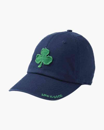Men's Applique Shamrock Tattered Chill Cap