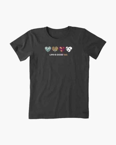 Women's 365 Hearts Crusher Tee