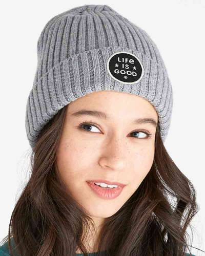 Star Coin Logo Patch Toasty Groove Beanie