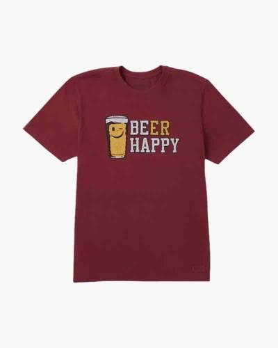 Men's Beer Happy Crusher Tee