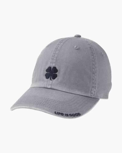 Clover Luck Chill Cap in Slate Gray