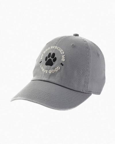 Women's My Dog Rescued Me Chill Cap