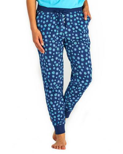 Women's Floral Element Snuggle Up Sleep Joggers