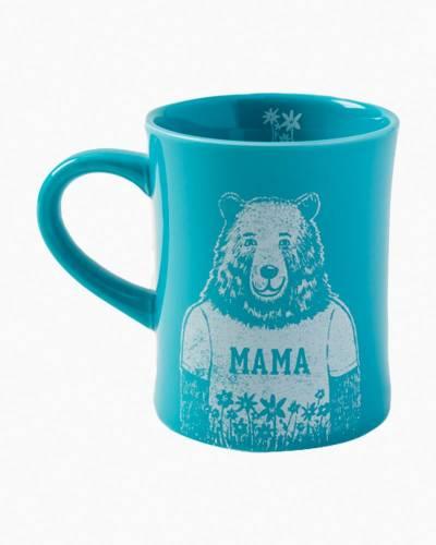 Mama Diner Mug in Harbor Blue