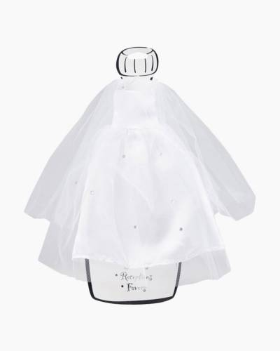 Wine/Champagne Bride Bottle Cover