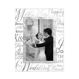 Malden Mr. and Mrs. Glass Frame (4x6in)