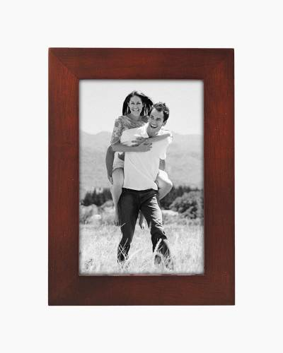 Dark Walnut Wood Frame (4x6in)
