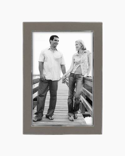 Two Tone Silver Frame (4x6in)