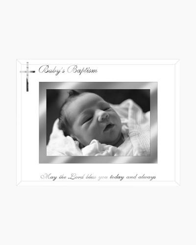 Baptism Glass Frame (4x6in)