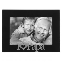 Malden I Heart Papa Expressions Frame (4x6in)