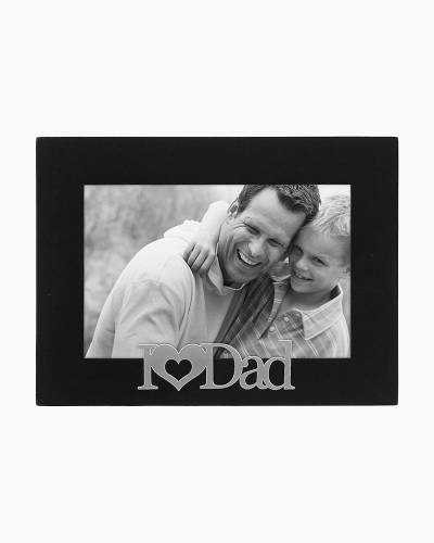 I Heart Dad Expressions Frame (4x6in)