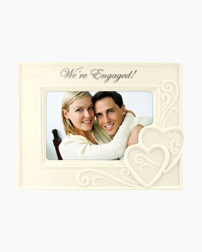 We're Engaged Tabletop Frame (4x6in)