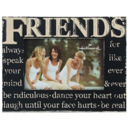 Malden Friends Wood Tabletop Frame (4x6in)