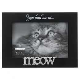 Malden 4 X 6 You Had Me at Meow Picture Frame