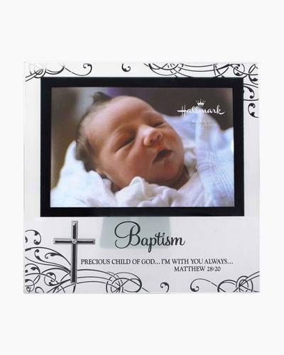 Precious Child Baptism Glass Frame (4x6in)