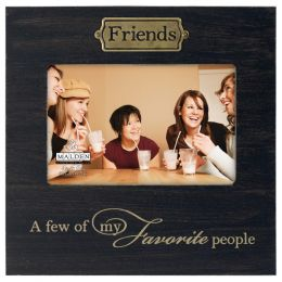 Malden Picture Frame with Friends Plaque