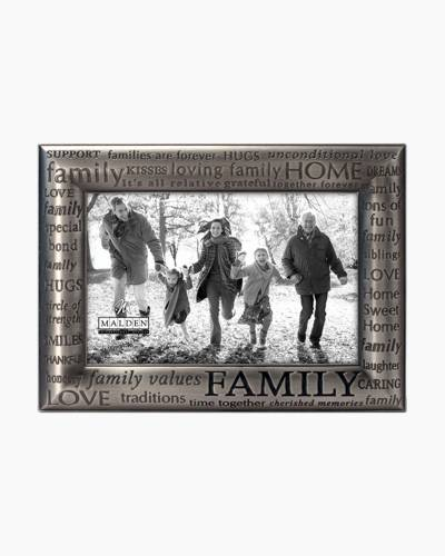 FAMILY Modern Words Series frame
