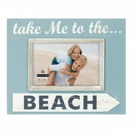 Malden Take Me to the Beach Frame (4x6in)
