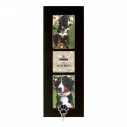 Malden Dog Paw Triple-Opening Frame and Leash Holder
