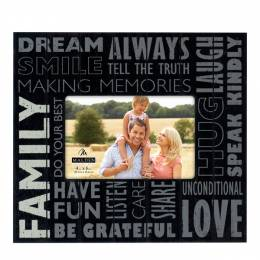 Malden Family Subway Sign Picture Frame