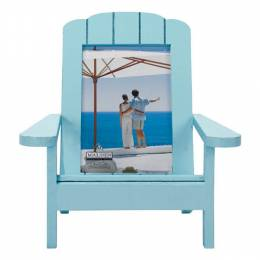 Malden Turquoise Adirondack Dimensional Wooden Chair Frame