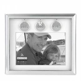 Malden Best Dad Ever Charms Frame