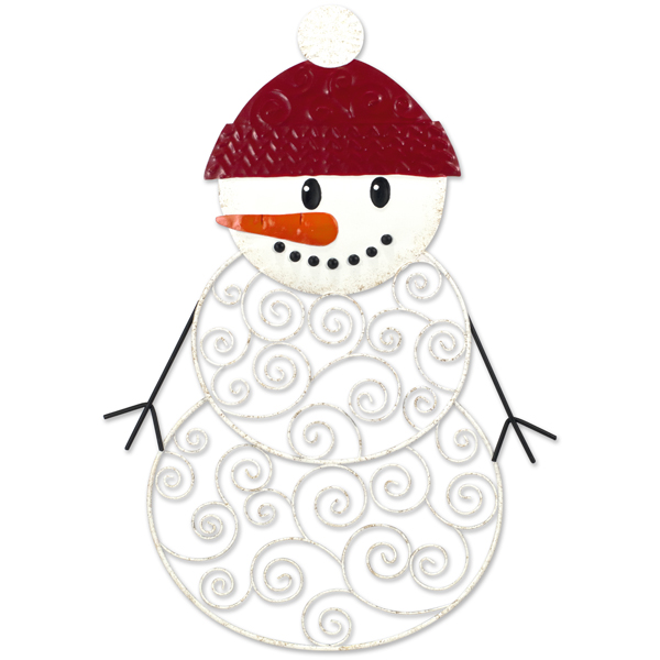 Malden Wire Snowman Greeting Card and Photo Holder