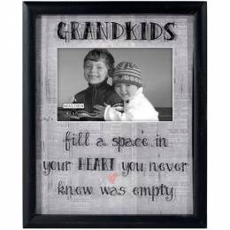 Malden Grandkids Newsprint Photo Frame