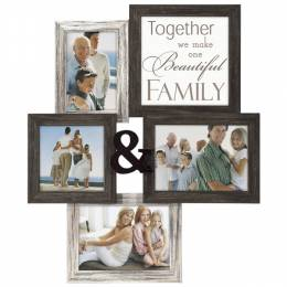 Malden Family Four-Photo Collage Frame