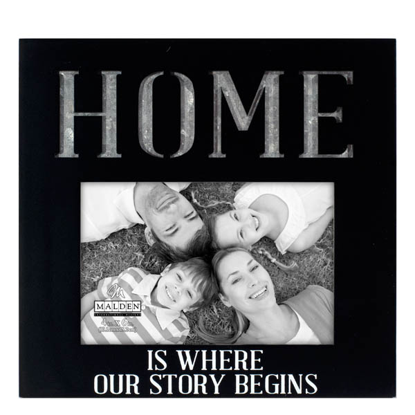 Malden Home is Where Our Story Begins Photo Frame
