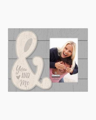 You and Me Ampersand Expressions Picture Frame