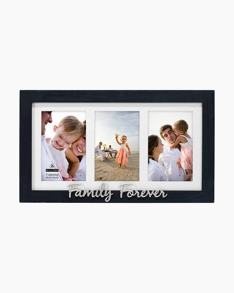 Malden Family Forever Three-Opening Expressions Picture Frame
