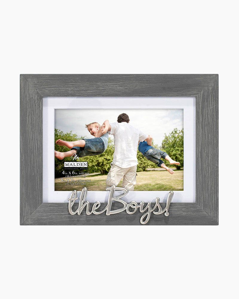 Malden The Boys! Expressions Picture Frame